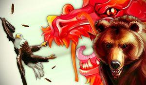 L'ours et le dragon
