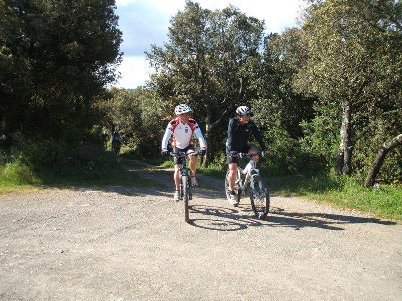 Ronde au cœur des Corbières à Cascastel