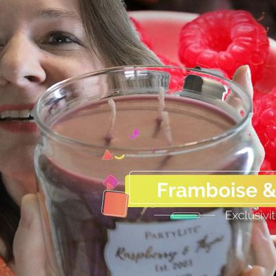 Pot 3 mèches exclusif Framboise Thym - Juin 2019