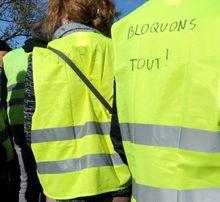 Samedi 14 mars 2020 : manifestation des Gilets Jaunes à Paris