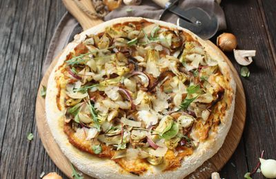 La meilleure pizza végétarienne de l'univers (rien que ça!!)