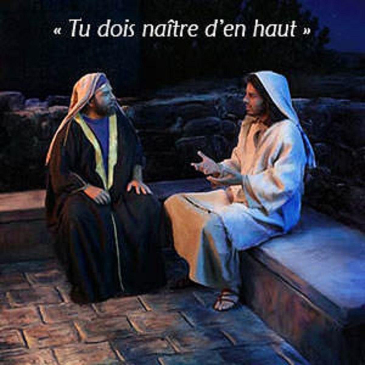 Evangile du 13 Avril « Il vous faut naître d'en haut » (Jn 3, 7b- 15) #parti2zero #evangile
