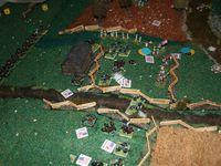 Les troupes d'Archer ont réussi à prendre le terrain. Gamble se voit obliger de reculer juste derrière mc Pherson Ridge. La cavalerie a mis pied à terre et vient soutenir le flanc gauche. Les Bleus de Davis sont toujours coincés au milieu du champ de blé.