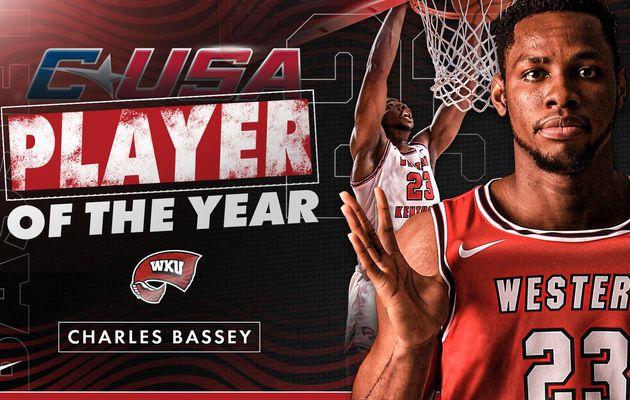 Conférence USA : Charles Bassey élu MVP et Joueur Défensif de l'année