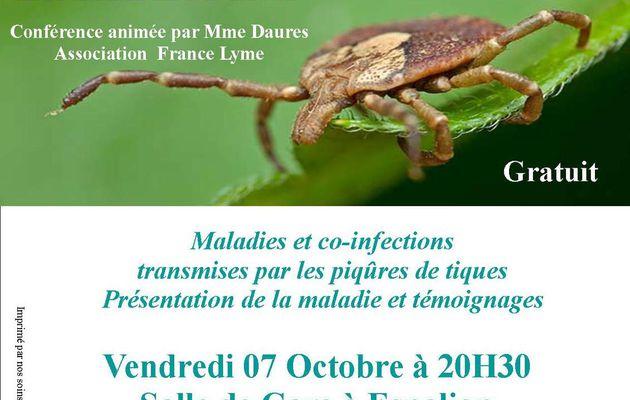 Conférence sur la maladie de Lyme