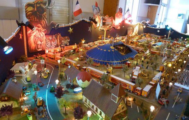 Exposition de maquettes les Sables d'Olonne : le cirque