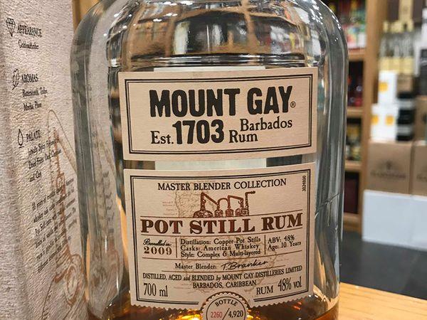 Mount Gay - Pot Still Rum