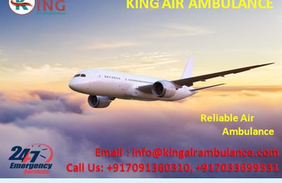 King Air Ambulance Service in Patna: Serves Hi-tech Facilities with experienced Doctors