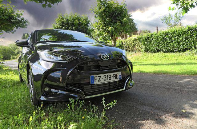 Essai Toyota Yaris 1.5 Hybride 116 ch Iconic