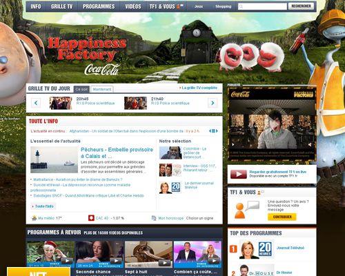 TF1 lance son nouveau site web !