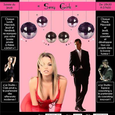 SEXY GIRLS : la soirée JetSet incontournable