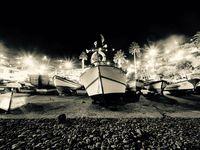 Coup de coeur dans le petit port de Camara De Lobos, un endroit plein de charme, surtout quand la lumière s'en mêle....