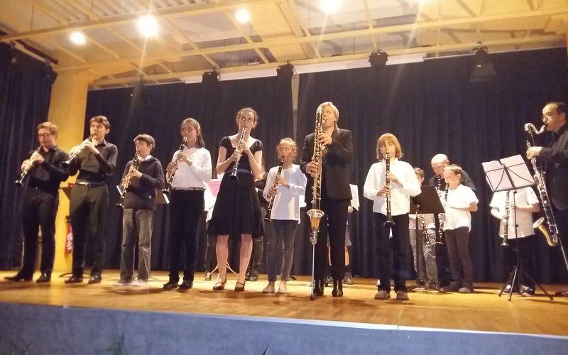 Master classe de clarinette à Aubière