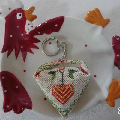 Porte-clefs Saint Valentin 2 , à offrir sans faute