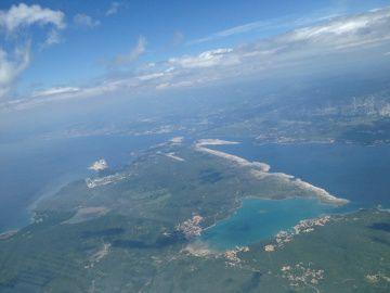 Premier vol sur Split en Croatie
