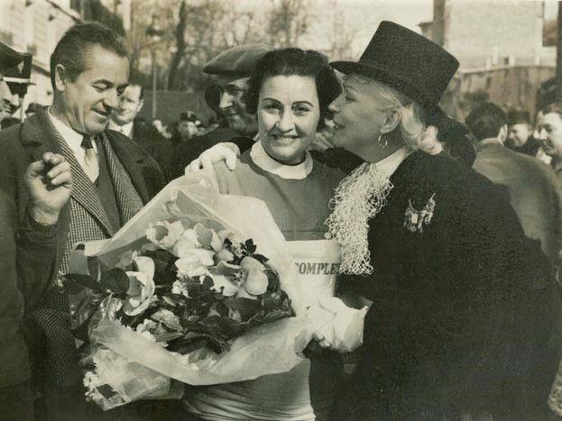 La Houppa et Andrée Regnier!