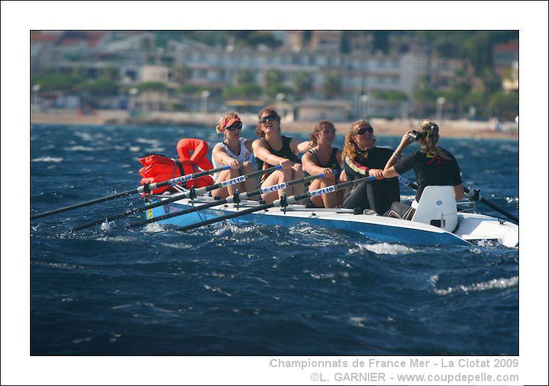 Championnat de France d'Aviron de Mer, La Ciotat, 9&10 octobre 2009