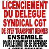 PETITION EN LIGNE : Non au licenciement du délégué syndical CGT STEF TRANSPORT RENNES