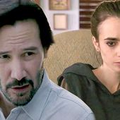 Keanu Reeves helps a dying Lily Colin battle anorexia in To The Bone