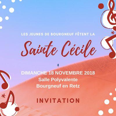 Sainte Cécile - 18 novembre 2018