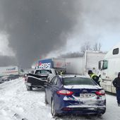Deadly 150-vehicle pileup closes I-94 in west Michigan