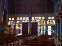 Quelques photographies de l'intérieur de l'église Notre-Dame de la Paix
