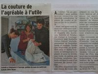 Formation couture presse