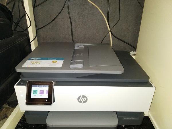 installation de l'imprimante multifonctions jet d'encre HP Office Jet Pro 8022 @ Tests et Bons Plans