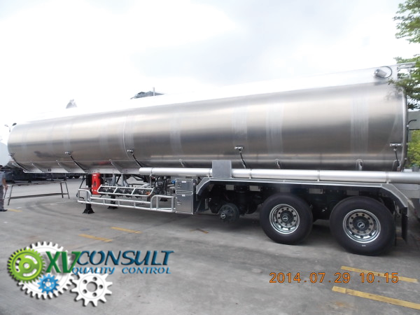 Export China, manufacturing, quality control semi trailer tankers, transport and export service .10000 liters> 50000 liters Aluminum and carbon steel, ADR standards. Aluminium Fourgons     .:info@xvconsult.com