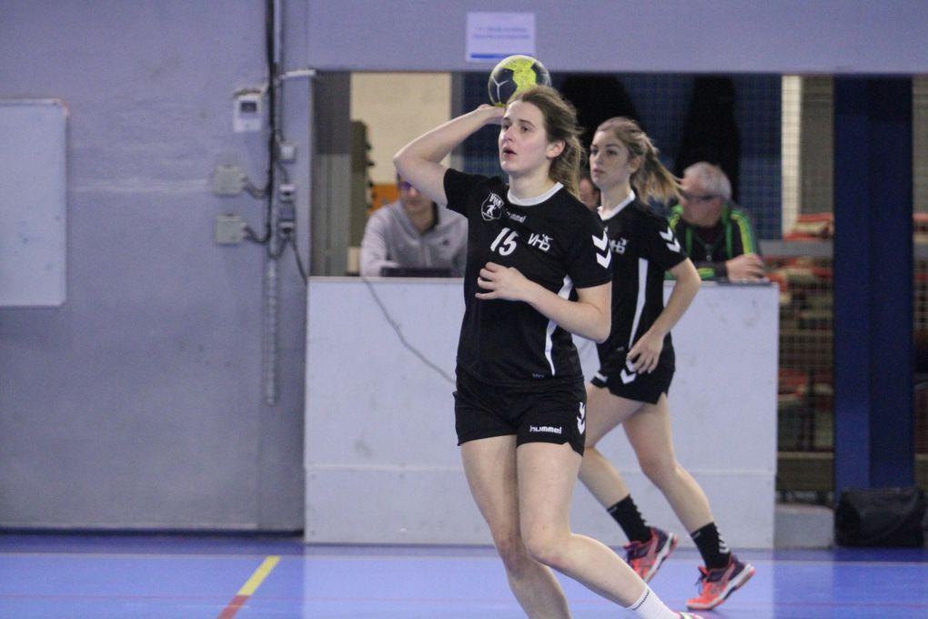 Les U18F de l'Entente Vénissieux/Villeurbanne sont leadersde leur  challenge national
