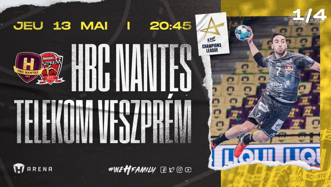 Nantes / Veszprem : Comment suivre la rencontre ce jeudi ?