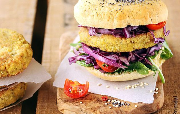 Repas festif bio et vegan
