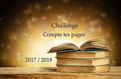 Challenge compte tes pages 2017/2018