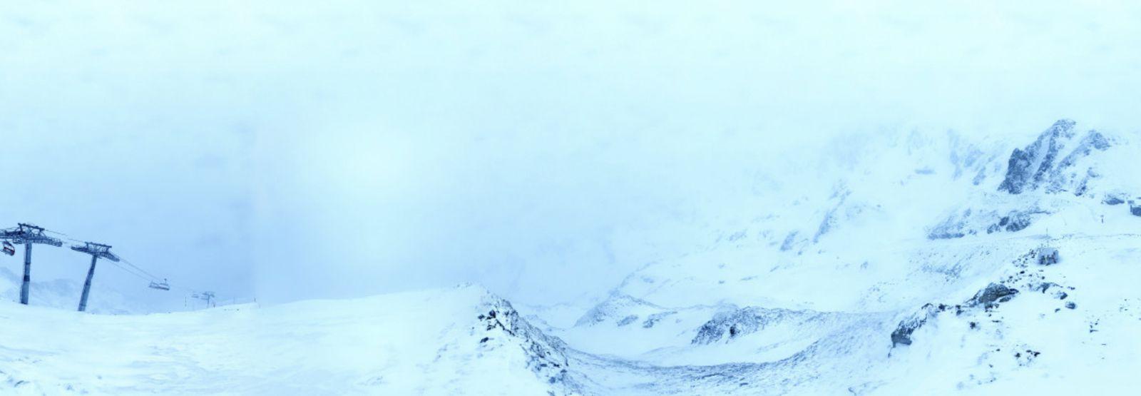 Luchon-Superbagnères : tombe la neige...