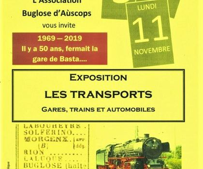 Exposition Les TRANSPORTS - BUGLOSE