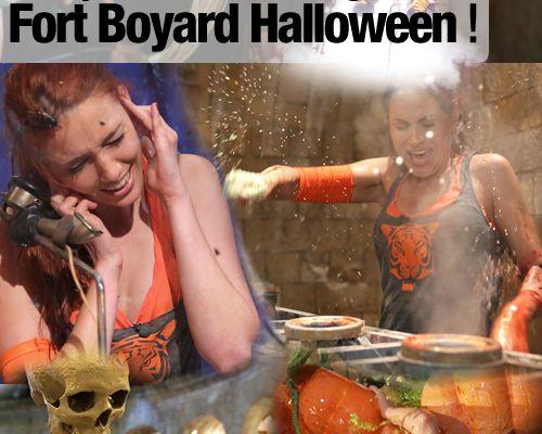Les premières images de Fort Boyard Halloween !