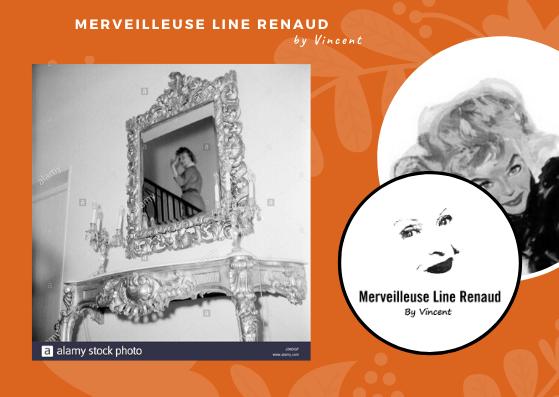 PHOTOS: Line Renaud dans sa maison à Rueil Malmaison 1954-1955