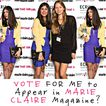 Fashion Chalet in MARIE CLAIRE Magazine???