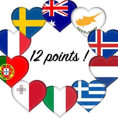 Les 12 points - Eurovision