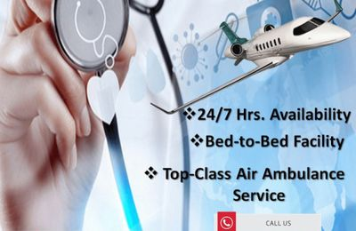 Use Most Facilitated Air Ambulance Services in Patna by Medivic