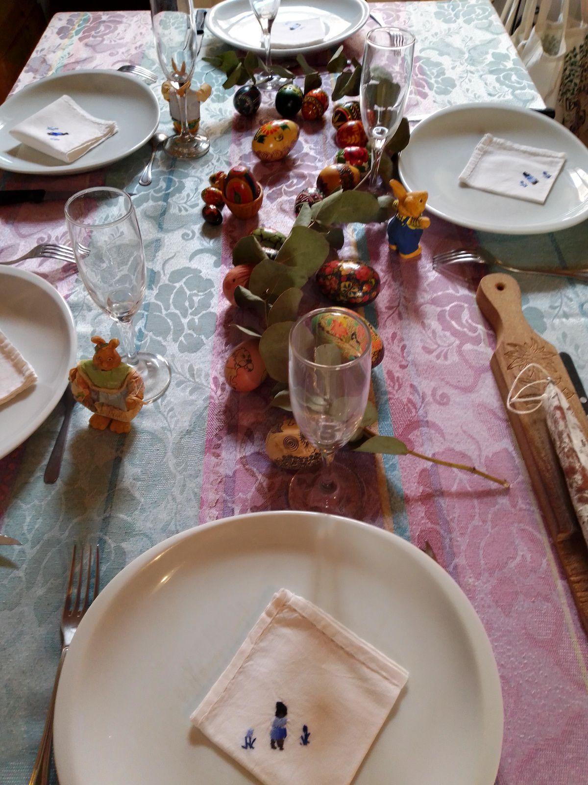 Oeufs peints de Pâques