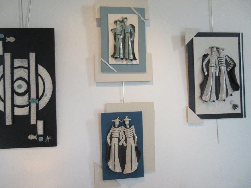 Du 21 Juin au 3 Juillet Céramiques, peintures et dessins.