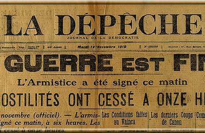 Joinville-le-Pont . Commémoration de l'armistice du 11 Novembre 1918 : Compte tenu du contexte sanitaire, la cérémonie  se tiendra en comité restreint sans les joinvillais...;