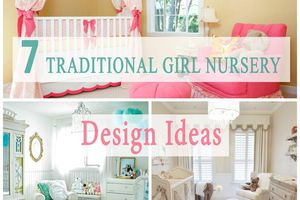 How to achieve traditional design in a nursery for girls - smart tips