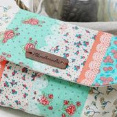 Makeup Bag with Magnetic Clasp Tutorial ~