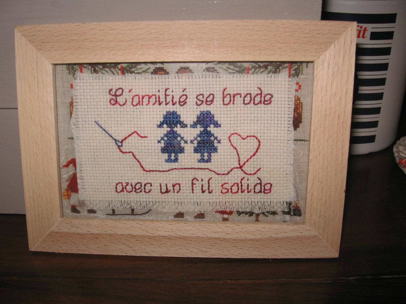 J'adore cette broderie !