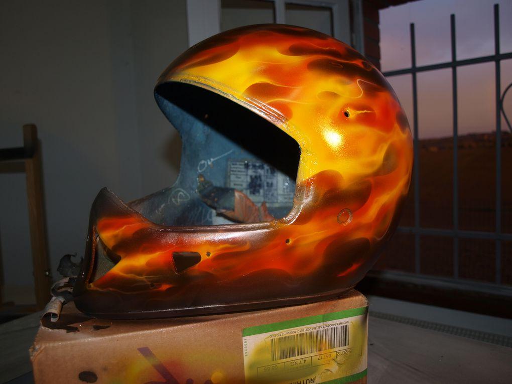 voici toute une série de plusieurs styles de flamming