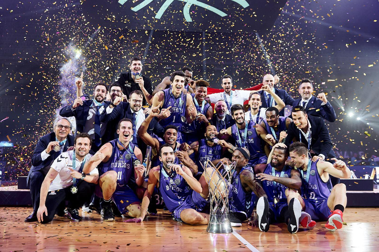 Hereda San Pablo Burgos remporte la Basketball Champions League 2020
