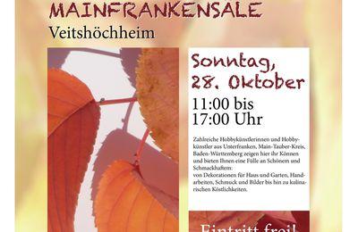 46 Aussteller beim Herbstmarkt der Kolpingsfamilie Veitshöchheim am 28. Oktober in den Mainfrankensälen