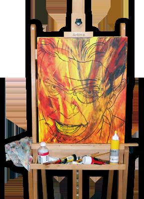 4 - Œuvres à l'acrylique
